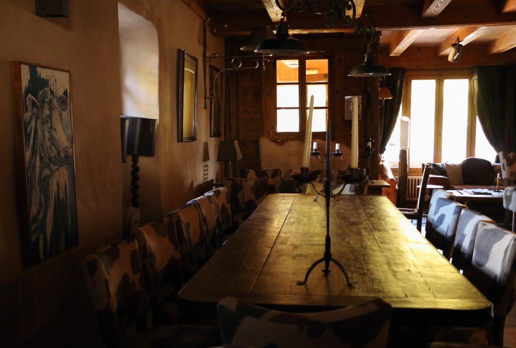 restaurant la ferme de victorine notre dame de bellecombe grande table